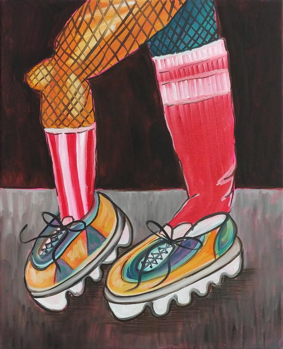 Club Kid (2020)Oil on canvas24
