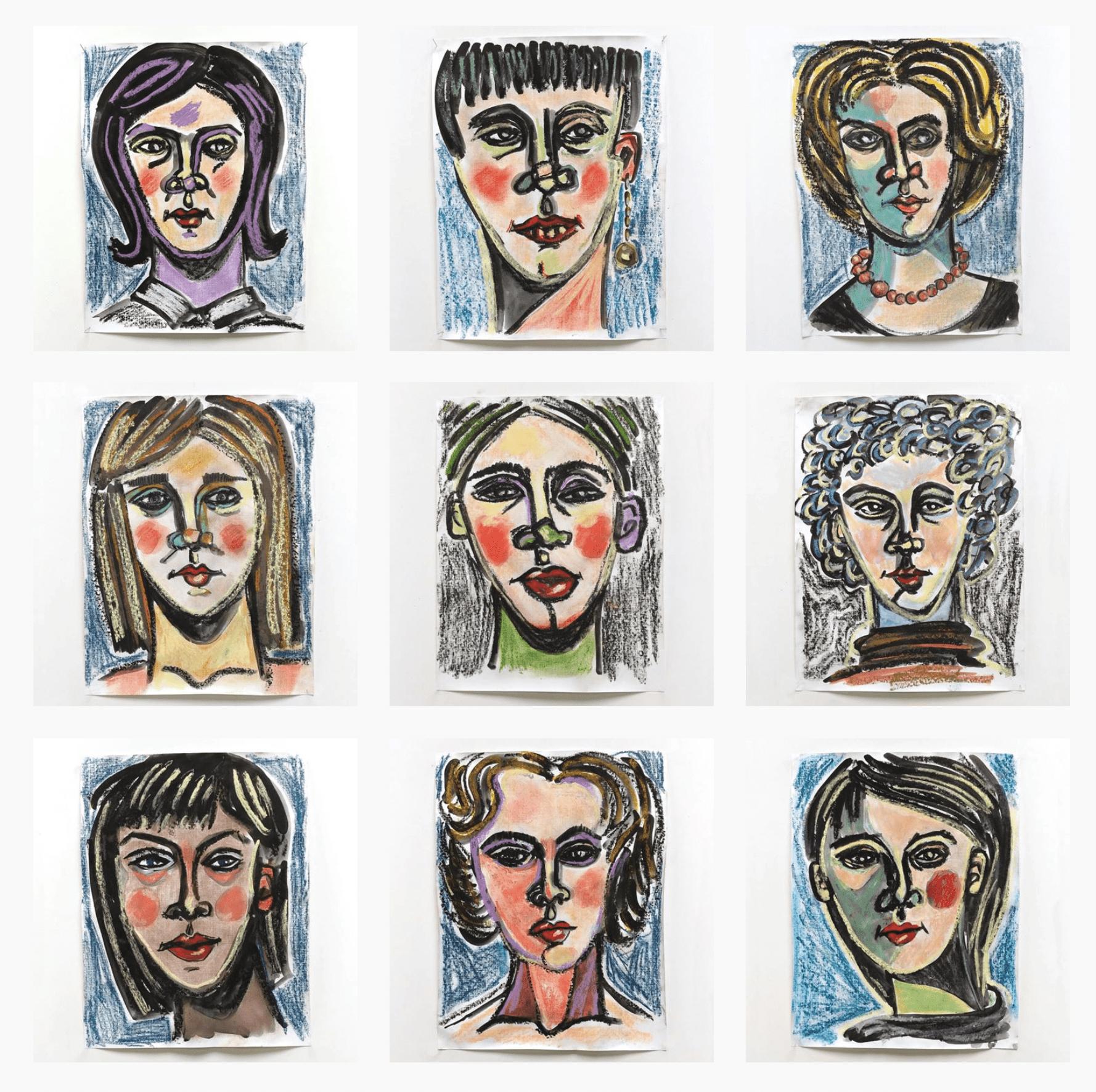 Word Series Project – Nine Women