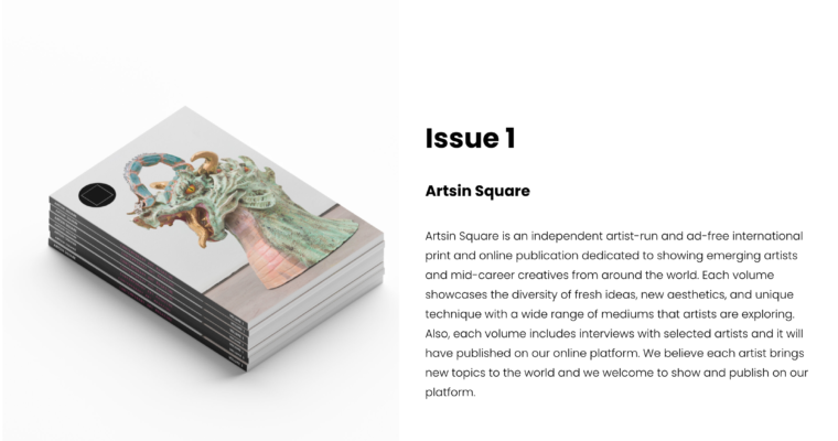 Selected for Arts in Square Magazine